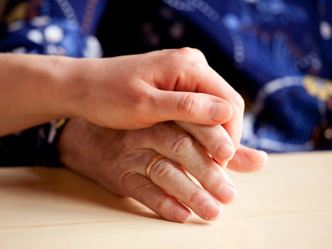 Image of two hands holding for Dual Diagnosis and Co-Occuring Disorders Treatment Page