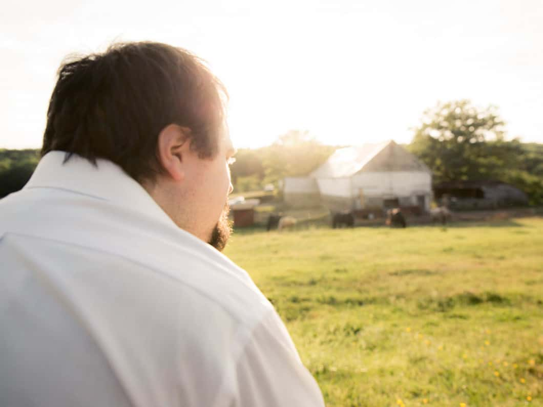 Connecticut Mental Health Treatment Man Staring Into Distance Image